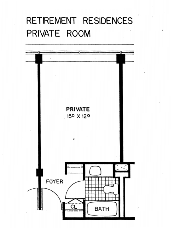 Retirement Residences Private Room